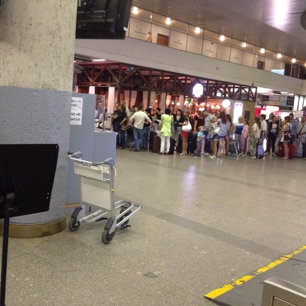 Photo taken at Check-in desk by Ole S. on 8/9/2013