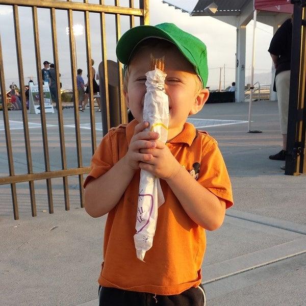 Photo taken at Brent Brown Ballpark by Khayyam J. on 7/26/2014