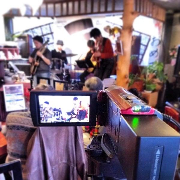 Photo taken at Nefertiti Jazz Cafe & Bar by Ichitaro K. on 2/22/2014