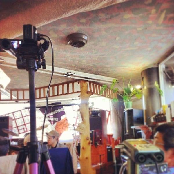 Photo taken at Nefertiti Jazz Cafe & Bar by Ichitaro K. on 4/26/2014