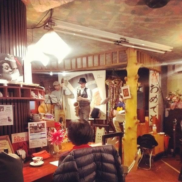 Photo taken at Nefertiti Jazz Cafe & Bar by Ichitaro K. on 11/30/2013