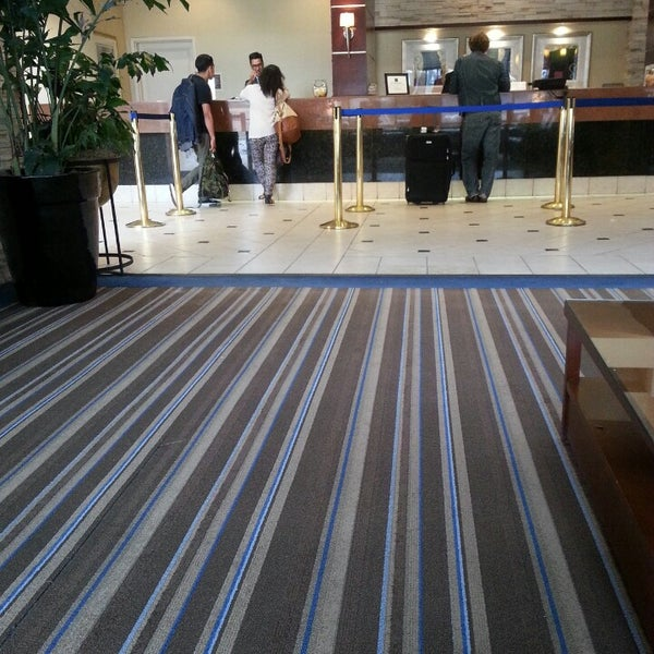 Photo taken at Four Points by Sheraton Los Angeles International Airport by Dennis D. on 5/5/2013