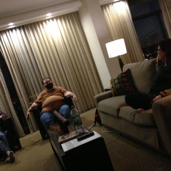 Photo taken at DoubleTree by Hilton Hotel Portland by Patrick R. on 7/23/2013