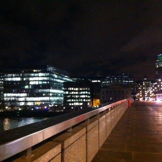 Photo taken at London Bridge by Dima G. on 12/20/2012