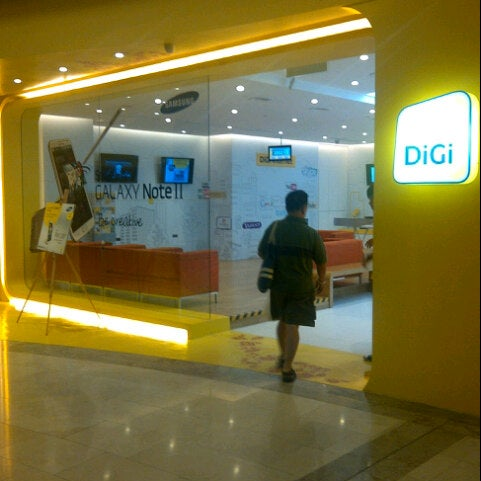 Photo taken at DiGi Center by Boy A. on 11/2/2012