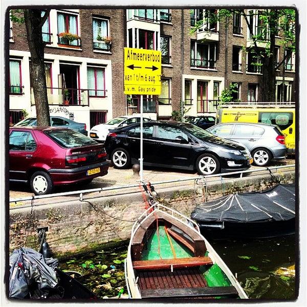 Photo taken at Amstelsluis by Boris K. on 7/16/2013