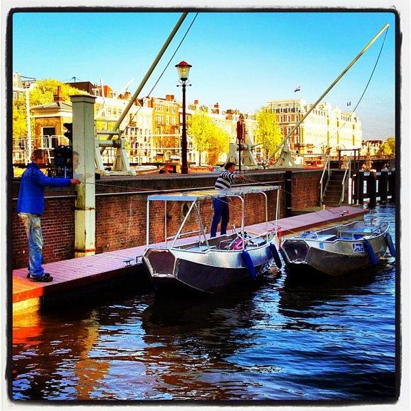 Photo taken at Amstelsluis by Boris K. on 4/28/2013