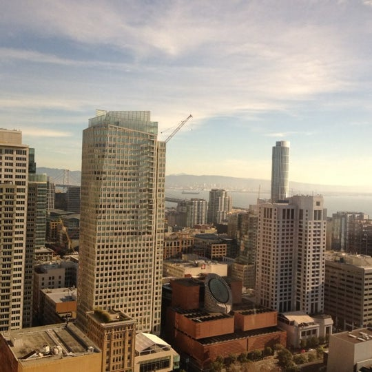 Photo taken at San Francisco Marriott Marquis by Ericka C. on 12/8/2012