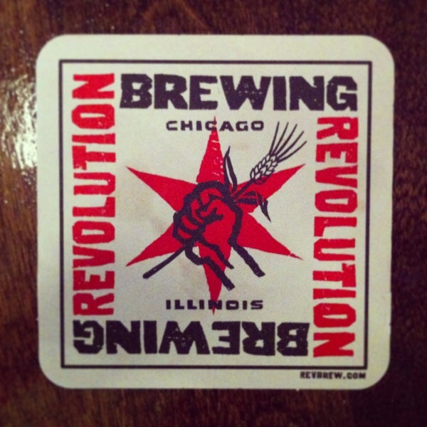 Photo taken at Revolution Brewing by Ryan O. on 3/25/2013