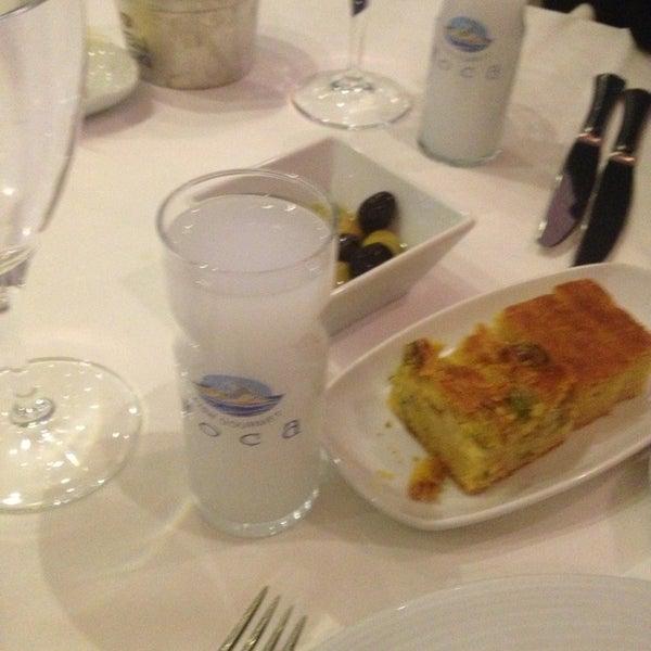 1/18/2013 tarihinde Gayeziyaretçi tarafından Foça Fish Gourmet'de çekilen fotoğraf