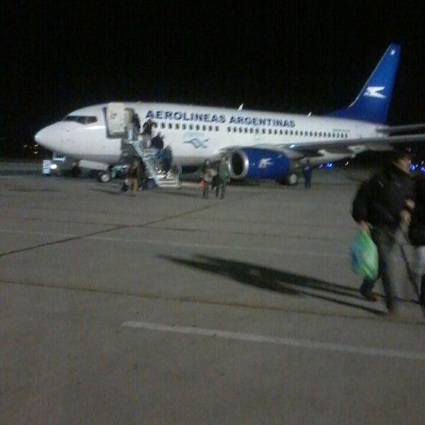 Foto tomada en Aeropuerto Internacional del Neuquén - Presidente Juan D. Perón (NQN) por Sol C. el 6/20/2013