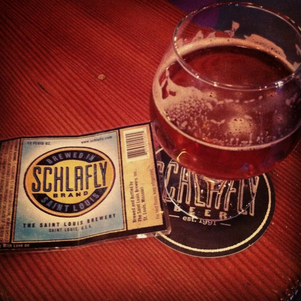 Photo taken at Schlafly Bottleworks by Ana on 1/26/2013