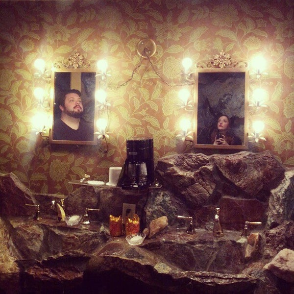Photo taken at Madonna Inn by Nicole L. on 1/1/2013
