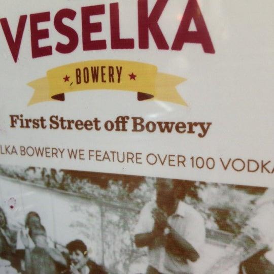 Photo taken at Veselka by Carol W. on 12/12/2012