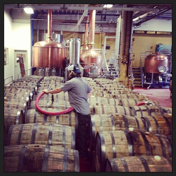 Photo taken at Samuel Adams Brewery by Adam D. on 7/12/2013