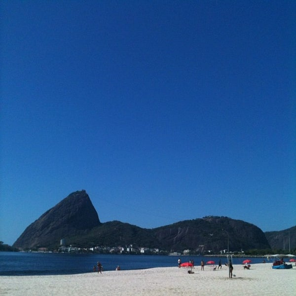 Photo taken at Flamengo Park by Julia B. on 10/8/2012