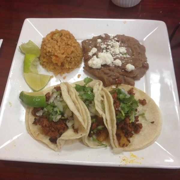Alambre tacos