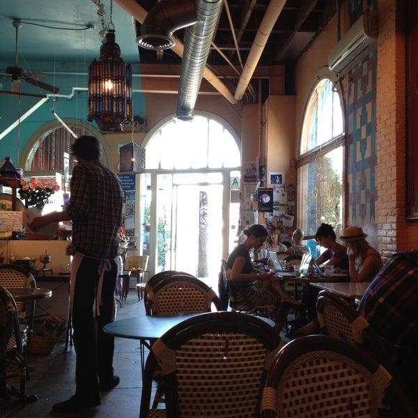 Photo taken at Casbah Café by Melinda M. on 4/21/2013