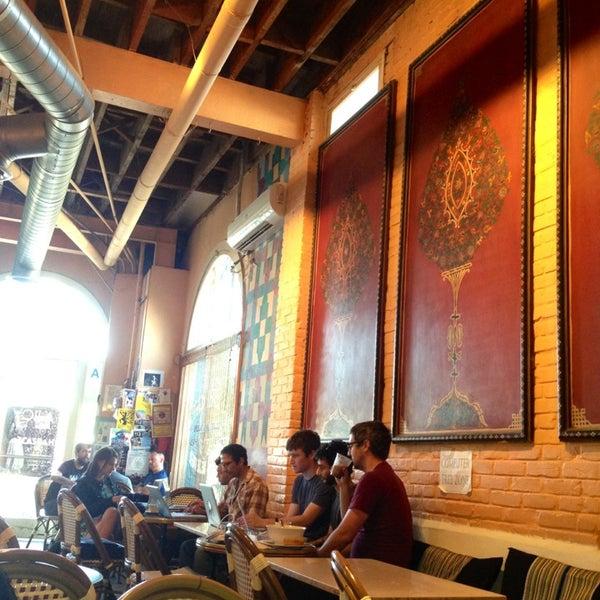 Photo taken at Casbah Café by Melinda M. on 7/8/2013