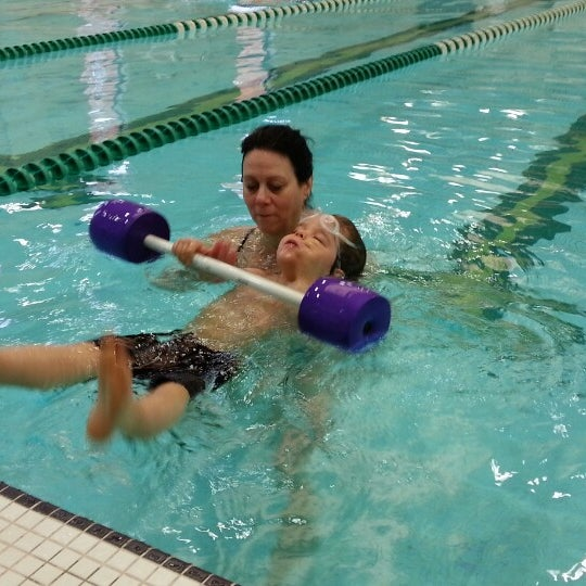 Photo taken at Aquatic and Fitness Center - George Mason University by Alexander B. on 3/17/2013