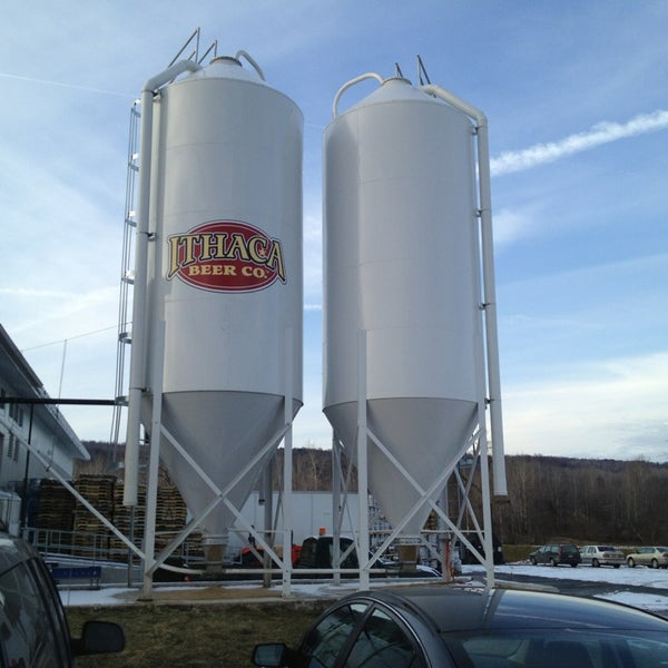 Photo taken at Ithaca Beer Co. Taproom by Sean R. on 1/27/2013