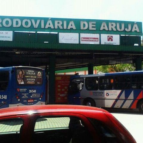Photo taken at Terminal Rodoviário Arujá by mika b. on 3/9/2013