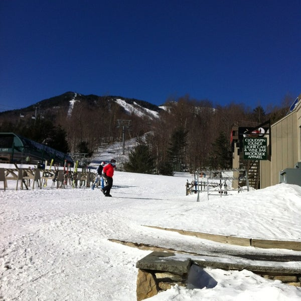 Photo taken at Whiteface Mountain by Andrew S. on 1/25/2013