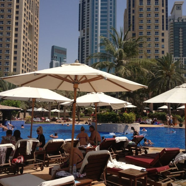 Photo taken at Habtoor Grand Resort, Autograph Collection by Corina on 4/1/2013