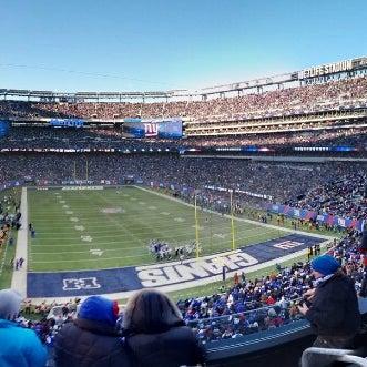 Photo taken at MetLife Stadium by Sam T. on 12/30/2012