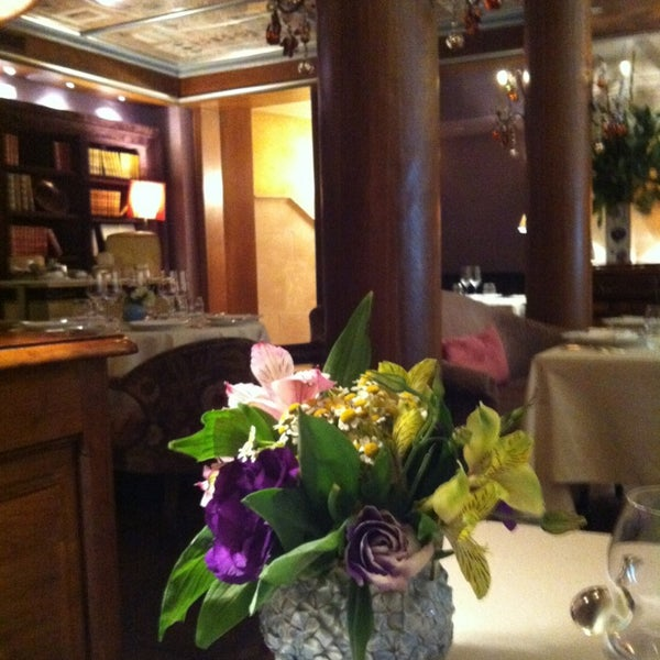 Photo taken at Bouley by just m. on 7/24/2013