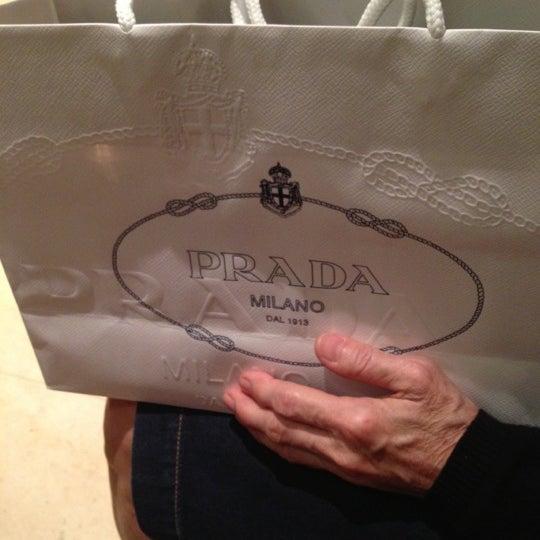 Photo taken at Prada by Modelmodel on 12/15/2012