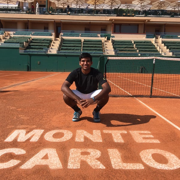 Photo taken at Monte-Carlo Country Club by Varun Y. on 1/6/2017