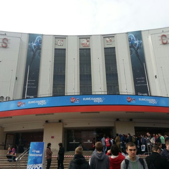 Photo taken at Earls Court Exhibition Centre by Joseph G. on 9/28/2012