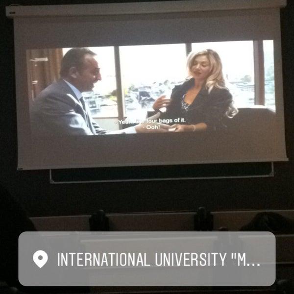 Снимок сделан в Международный университет «МИТСО» пользователем Карина К. 11/3/2017