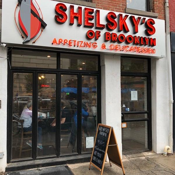 Foto tomada en Shelsky's of Brooklyn por Avrohom K. el 10/8/2017