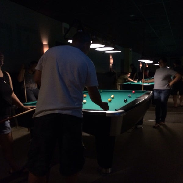 Photo taken at Pressure Billiards & Cafe by Vic on 6/21/2014