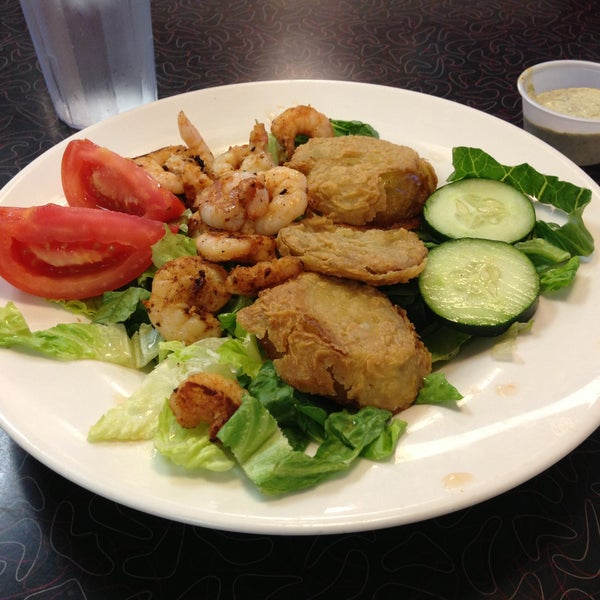 Photo taken at Hub City Diner by Kara D. on 5/14/2013