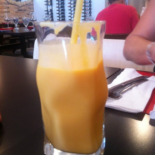 Try the MANGO LASSI one of the most amazing drinks the Indian culture has to offer!