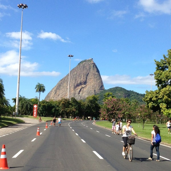 Photo taken at Flamengo Park by Lucas A. on 5/26/2013