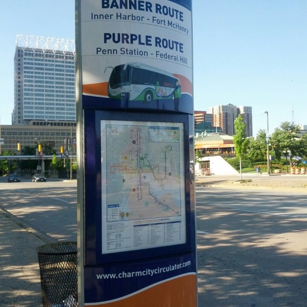 charm city circulator purple route now closed inner
