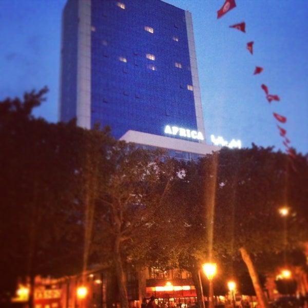 Photo taken at Avenue Habib Bourguiba by Salym Al Boukhari on 3/31/2013
