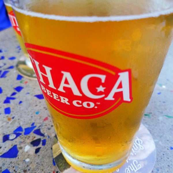 Photo taken at Ithaca Beer Co. Taproom by Mary D. on 8/13/2017
