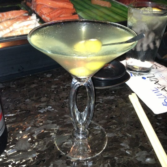Photo taken at Blue Wasabi Sushi & Martini Bar by John B. on 11/17/2012