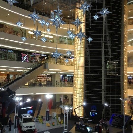 Photo taken at Senayan City by Yohanes H. on 12/1/2012
