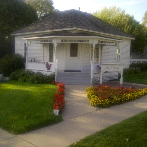 Photo taken at John Wayne Birthplace Museum by Staci C. on 9/14/2012