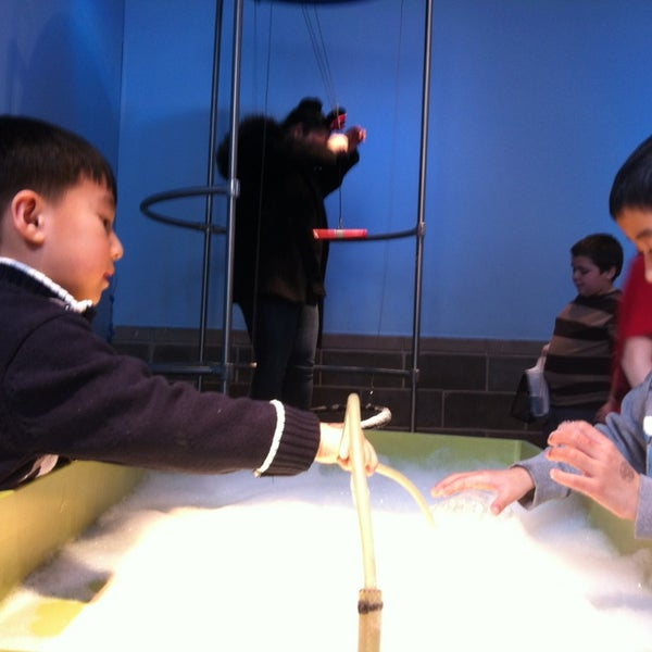 Photo taken at Long Island Children's Museum by Vincent P. on 3/10/2013