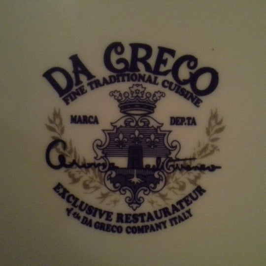 Photo taken at Da Greco by Toni B. on 12/22/2012