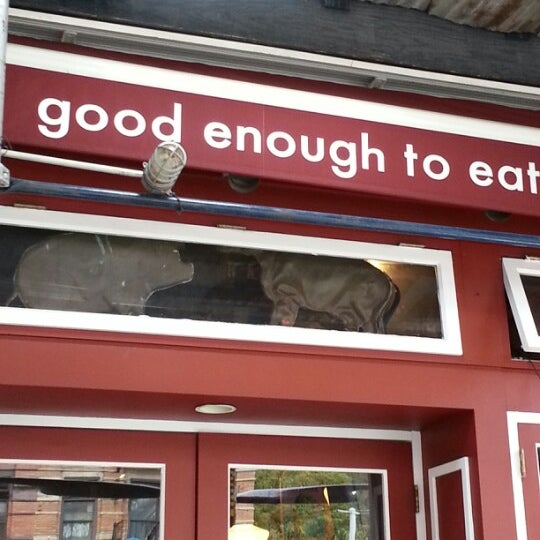Photo taken at Good Enough to Eat by Chris D. on 10/7/2012