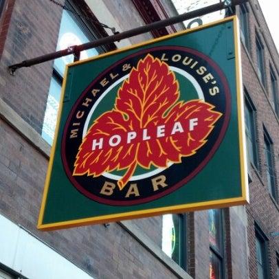 Photo taken at Hopleaf Bar by Jack K. on 4/25/2013