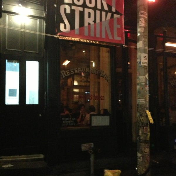 Photo taken at Lucky Strike by Toby C. on 9/14/2013